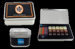 Cajas Metálicas con Chocolates Personalizados